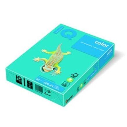 Fénymásolópapír színes IQ Color A/4 80 gr intenzív azúrkék AB48 500 ív/csomag
