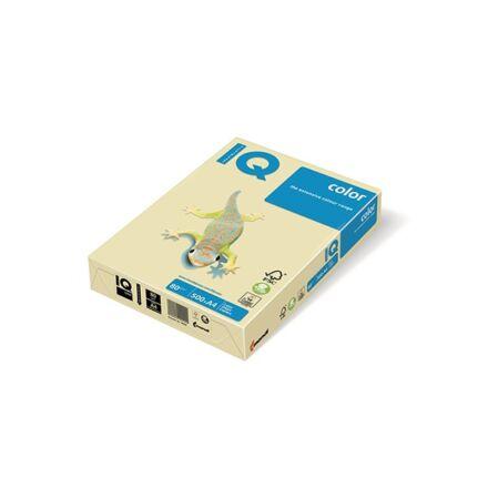 Fénymásolópapír színes IQ Color A/4 80 gr pasztel krém CR20 500 ív/csomag