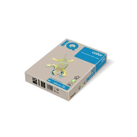 Fénymásolópapír színes IQ Color A/4 80 gr trend szürke GR21 500 ív/csomag