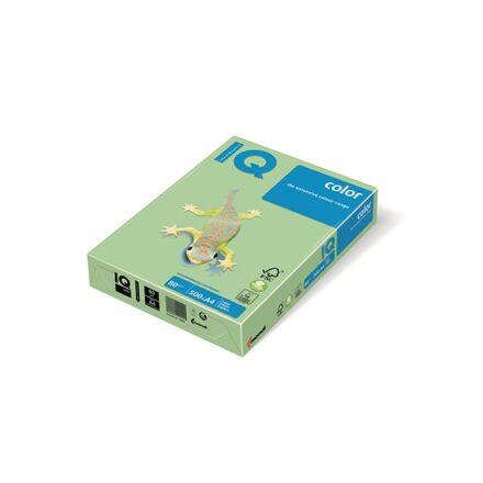 Fénymásolópapír színes IQ Color A/4 80 gr pasztel középzöld MG28 500 ív/csomag