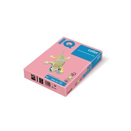 Fénymásolópapír színes IQ Color A/4 80 gr pasztel rózsa PI25 500 ív/csomag