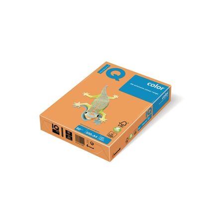 Fénymásolópapír színes IQ Color A/4 80 gr trend arany GO22 500 ív/csomag