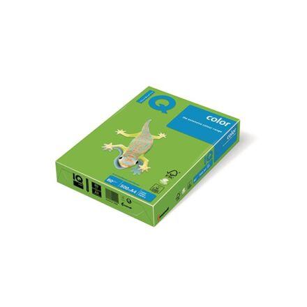 Fénymásolópapír színes IQ Color A/4 80 gr intenzív májuszöld MA42 500 ív/csomag
