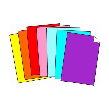 Dekorációs karton 50x70 cm 350 gr piros 50 ív/csomag