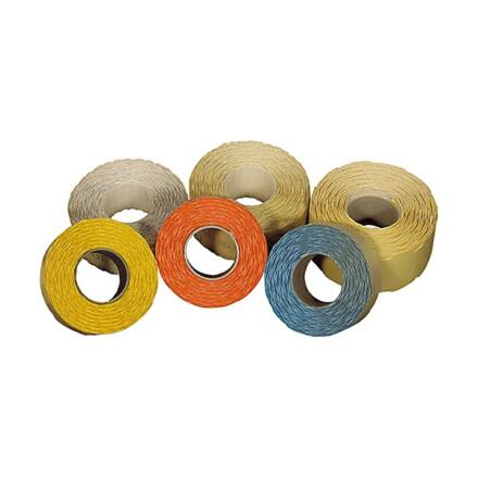 Árazószalag FORTUNA 16x19mm perforált fehér 10 tekercs/csomag