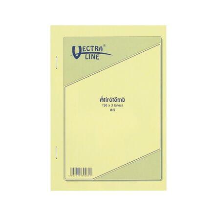 Önátírótömb VECTRA-LINE A/5 50x3 példány