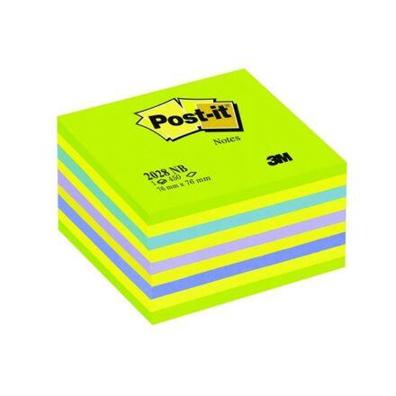 Öntapadós jegyzet 3M Post-it LP 2028NB 76x76mm lollipop zöld  450 lap