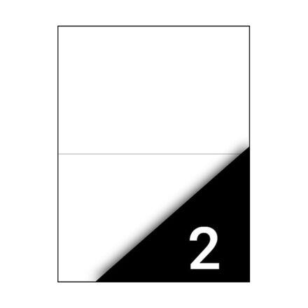 Etikett FORTUNA 210x148mm univerzális 200 címke/doboz 100 ív/doboz