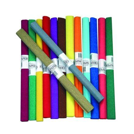 Krepp papír 50x200cm lila 13 (21)