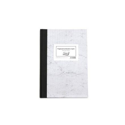Nyomtatvány fogászati ambuláns napló A/4 250lap