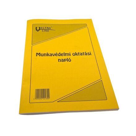Nyomtatvány munkavédelmi oktatási napló VECTRA-LINE