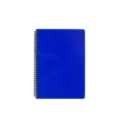 Spirálfüzet ELECTRA A/4 PP borító 70 lapos kék