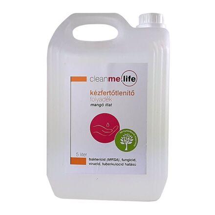 Kézfertőtlenítő folyadék utántöltő CLEANME.LIFE mangó 5 L