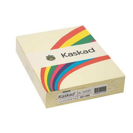 Fénymásolópapír színes KASKAD A/4 160 gr sárga 55 250 ív/csomag