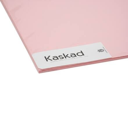 Dekorációs karton KASKAD 45x64 cm 2 oldalas 225 gr rózsa 25 100 ív/csomag