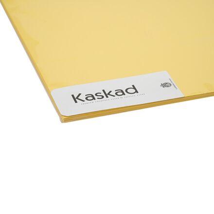 Dekorációs karton KASKAD 45x64 cm 2 oldalas 225 gr citromsárga 57 100 ív/csomag
