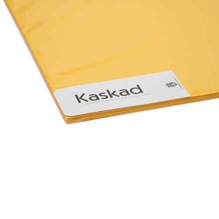 Dekorációs karton KASKAD 45x64 cm 2 oldalas 225 gr napsárga 58 100 ív/csomag