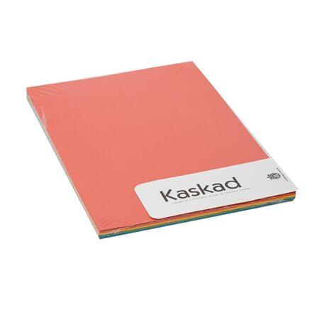Fénymásolópapír színes KASKAD A/4 80 gr vegyes intenzív (28,48,58,68,78) 5X20 ív/csomag