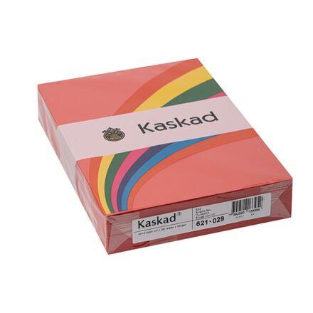 Fénymásolópapír színes KASKAD A/4 160 gr piros 29 250 ív/csomag