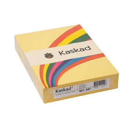 Fénymásolópapír színes KASKAD A/4 160 gr citromsárga 57 250 ív/csomag