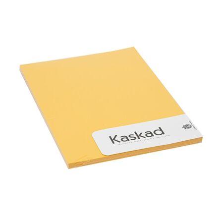 Fénymásolópapír színes KASKAD A/4 80 gr napsárga 58 100 ív/csomag