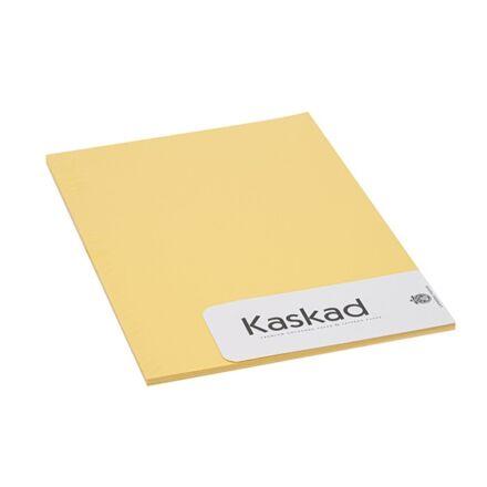 Névjegykártya karton KASKAD A/4 2 oldalas 225 gr citromsárga 57 20 ív/csomag