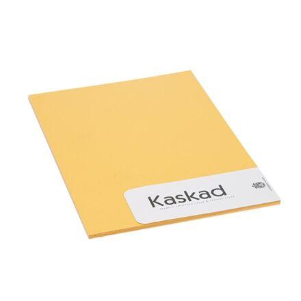 Névjegykártya karton KASKAD A/4 2 oldalas 225 gr napsárga 58 20 ív/csomag