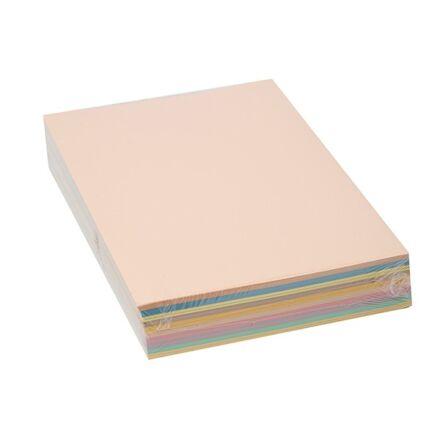 Fénymásolópapír színes KASKAD A/4 80 gr vegyes pasztell mix 10x50 ív/csomag
