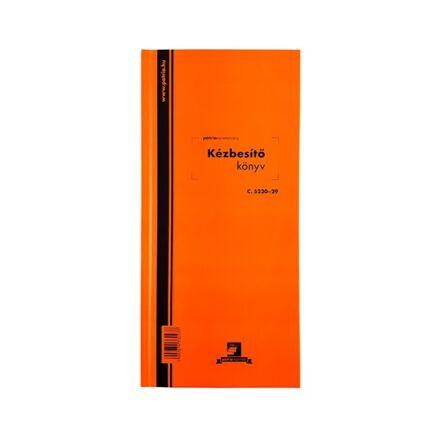 Nyomtatvány kézbesítőkönyv PÁTRIA 292x140mm 100 lapos