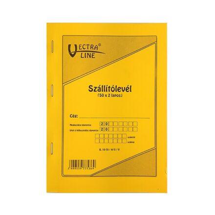 Nyomtatvány szállítólevél VECTRA-LINE A/5 50x2