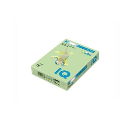 Fénymásolópapír színes IQ Color A/4 160 gr pasztell zöld GN27 250 ív/csomag