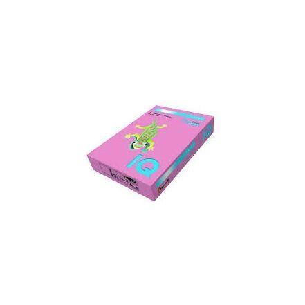 Fénymásolópapír színes IQ Color A/4 160 gr pasztell lazac SA24 250 ív/csomag