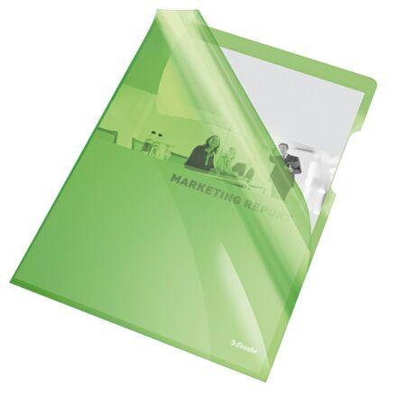 Genotherm ESSELTE luxus víztiszta A/4 zöld 150 mikron 25 db/csomag