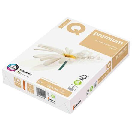 Fénymásolópapír IQ Premium Triotech A/4 80 gr 500 ív/csomag