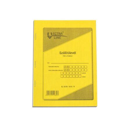 Nyomtatvány szállítólevél VECTRA-LINE A/5 50x3