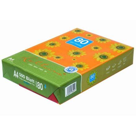 Fénymásolópapír LETTURA ISO 80-s A/4 újrahasznosított 80 gr 500 ív/csomag
