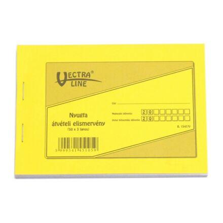 Nyomtatvány átvételi elismervény VECTRA-LINE