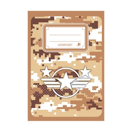 Leckefüzet ICO Süni A/5 Military