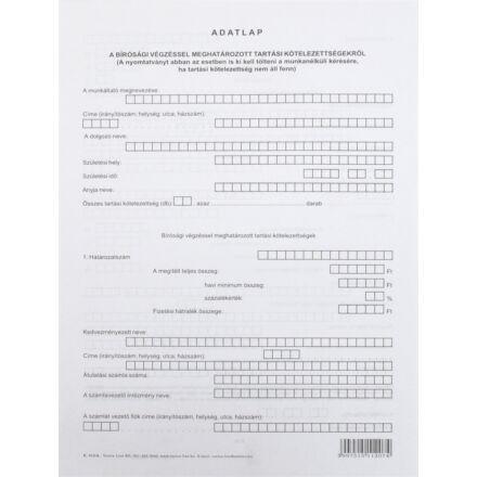 Nyomtatvány igazolás munkanélküli bírósági