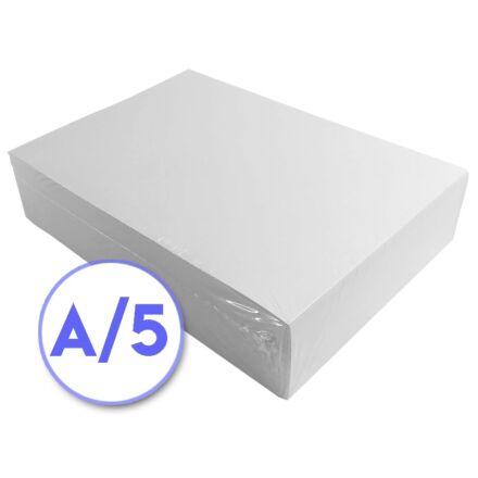 Fénymásolópapír A/5 80 gr 500 ív/csomag