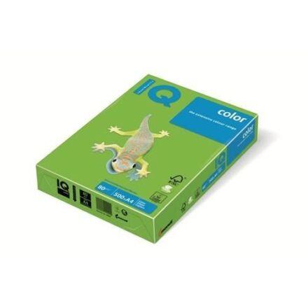 Fénymásolópapír színes IQ Color A/3 80 gr intenzív májuszöld MA42 500 ív/csomag