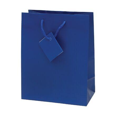 Ajándéktasak Special Simple M 18x23x10 kék