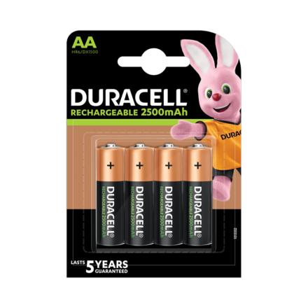 Akkumulátor DURACELL LSD AA 2500 mAh 4-es