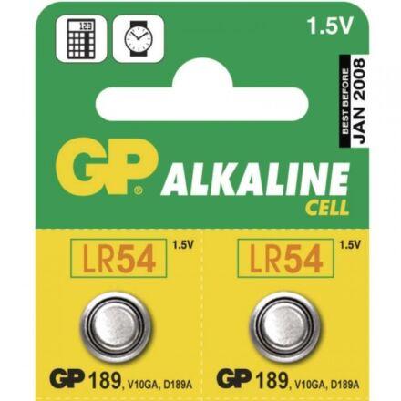 Elem gomb GP LR54 1,5V