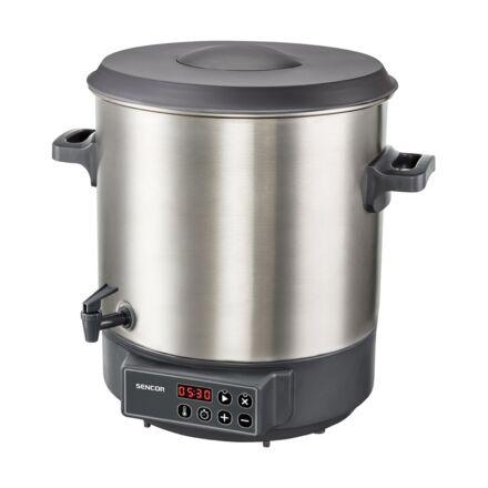 Elektromos főzőedény SENCOR SPP 3200SS 1800W 27 liter szürke
