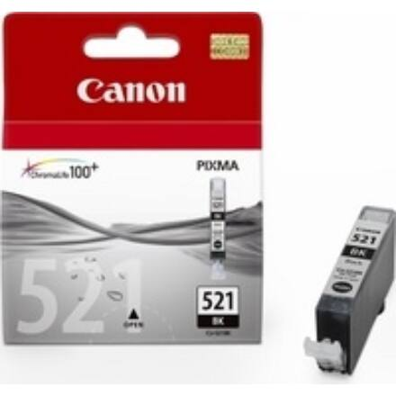 Festékpatron CANON CLI-521B fekete