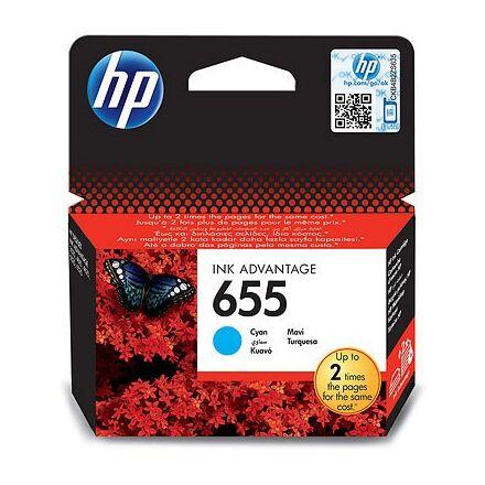 Festékpatron HP CZ110AEC (655) kék