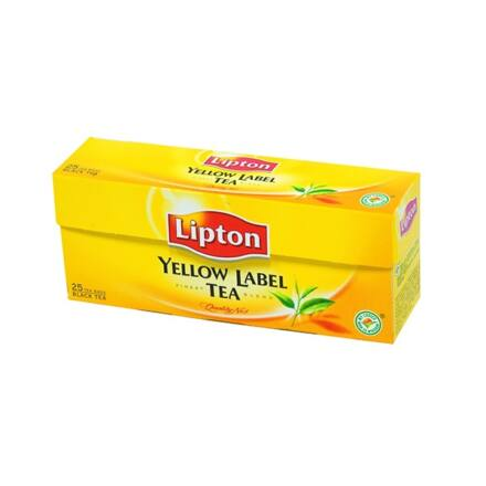 Fekete tea LIPTON Yellow Label 25x2g