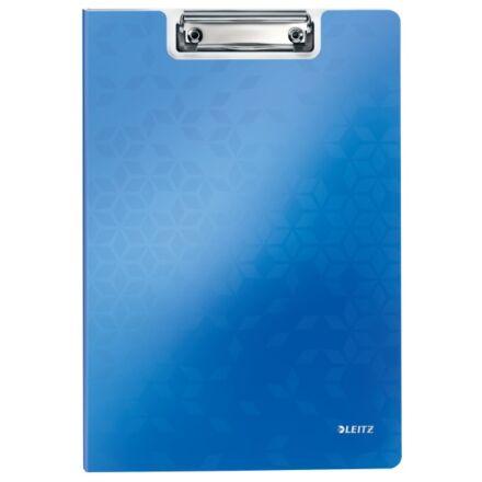Felírótábla LEITZ Wow A/4 kemény műanyag fedeles kék