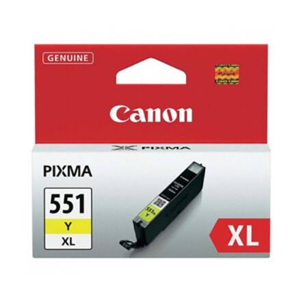 Festékpatron CANON CLI-551XLY sárga